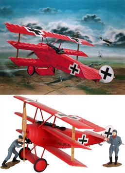 Revell 1/32 German Fokker DR.1 WW1 04744Number of parts 66Length 211mm.Wingspan 262mm.Glue and paints are required