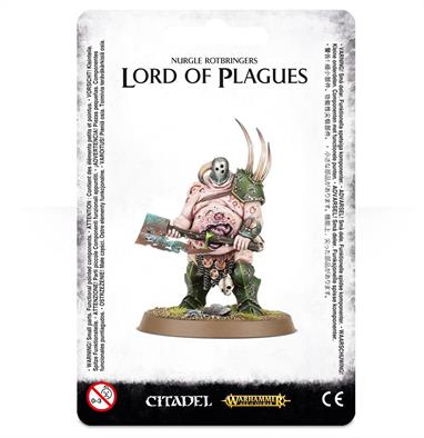 This multi-part plastic kit gives you everything needed to assemble one Lord of Plagues, wielding a Plague-ridden Great Blade.