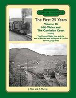 This tenth volume in the British Railways The First 25 Years series covers Mid Wales, featuring former GWR, Cambrian Railway and LNWR routes.Starting from Ruabon the GWR line is followed via Bala (junction) to Blaenau Ffestiniog, then onward to Barmouth and north to Pwllheli. South from Barmouth the Cambrian route is followed Dovey Junction and on to Aberystwyth and the narrow gauge Vale of Rheidol. Returning from Dovey Junction east through Machynlleth to Moat Lane Junction the Mid-Wales Railway is taken to Three Cocks Junction meeting the L&NWR Central Wales line whicch is covered from Craven Arms south to Llandovery. Resuming from Moat Lane Junction the Welshpool & Llanfair features before the final return to Oswestry, headquarters of the Cambrian Railways with a visit to the depot and works.J. Allan and A. Murray. 208 pages. 275x215mm. Printed on gloss art paper, casebound with printed board covers.