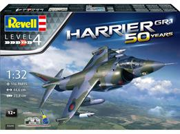 Revell 05690 1/32 Hawker Harrier GR.1 50th Anniversary Plastic KitNumber of Parts 76   Length 446mm  Wingspan 238mm