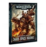 Codex: Chaos Space Marines contains a wealth of background and rules – the definitive book for Chaos Space Marines collectors.
