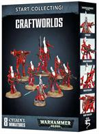 This is a great-value box set that gives you an immediate collection of fantastic Aeldari miniatures, which you can assemble and use right away in games of Warhammer 40,000! You'll receive a Farseer, 5 Wraithguard (who can be optionally assembled as Wraithblades), a Wraithlord and a War Walker, along with 1 Aeldari transfer sheet.