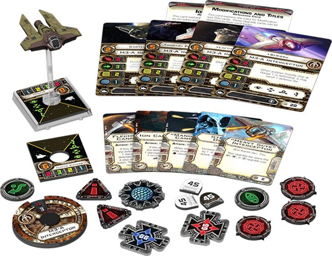 M3-A Interceptor Expansion Pack from Star Wars X-Wing