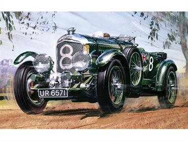 Airfix A20440 1/12th 1930 Bentley Blower 4.5 LitreNumber of Parts 278   Length 365mm  Width 145mm