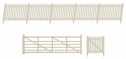 Kit includes:  • 2 x 120mm ramps (1 L/H, 1 R/H) • 2 large gates and 2 small gates