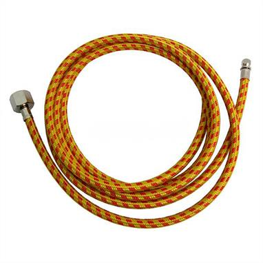 "Expo 1.7m Braided Air Hose AB105Supplied with adapters for Badger, Expo and Iwata airbrushes to 1/4"" compressor fitting."