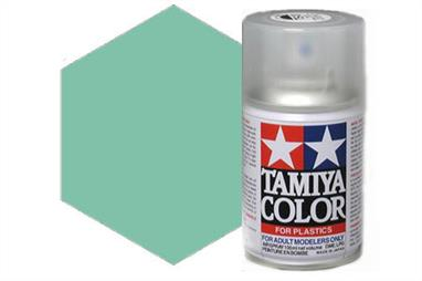 Tamiya TS60 Synthetic Lacquer Spray Paint Pearl Green 100ml TS-60These cans of spray paint are extremely useful for painting large surfaces, the paint is a synthetic lacquer that cures in a short period of time. Each can contains 100ml of paint, which is enough to fully cover 2 or 3, 1/24 scale sized car bodies.