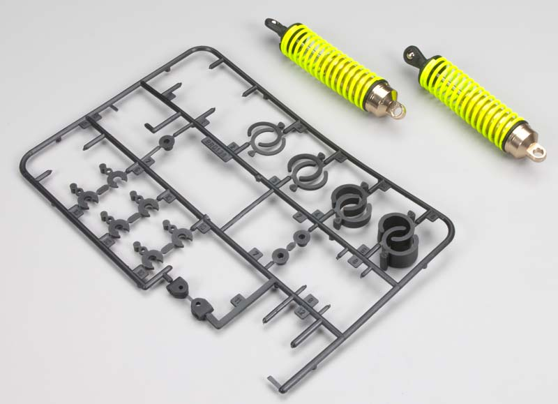 Front shock set for the EB4