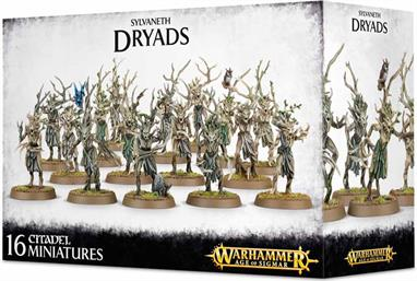 This multi-part plastic kit contains everything needed to make 16 Dryads, including 16 Citadel 32mm Round bases.