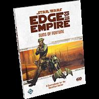 Suns of Fortune is a 144-page sourcebook for the Star Wars®: Edge of the Empire™ Roleplaying Game that allows you and your friends to explore the fantastic opportunities and dangers found within the Corellian Sector, the birthplace of Han Solo and Wedge Antilles. Discover three new species, exotic weapons, dozens of vehicles, nine modular encounters that Game Masters can use in any Edge of the Empire campaign, and more!