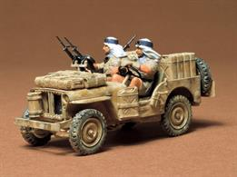 Tamiya 35033 1/35 Scale British SAS Jeep WW2