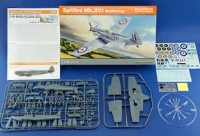 New tooling from Eduard of the Mk.XV1 Bubbletop Spitfire in 1/48 scale kit number 8285