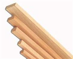 Balsa wood is very soft and light with a coarse open grain, offering an excellent balance of strength and lightness. The density of dry balsa wood is about one third the density of other hard woods. Balsa wood is used to make very light, stiff structures in architectural modelling projects and for the construction of lightweight model aircraft. It is also a very popular material to use when making wooden floats for fishing, as it is low density but high in strength. Despite being very soft, balsa is classified as a hardwood and is the softest commercial hardwood available.