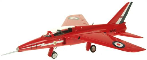 Aviation AV7222004 Red Arrows XR540 Folland Gnat Display Model 1/72
