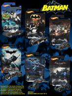 Hot Wheels Batman Series 2015 Roaring in from the streets of Gotham City comes an assortment that pays homage to the history of the uniquely designed BATMOBILE with a series of 1:64-scale vehicles specific to the BATMAN movies, animated series, and classic television show. Swoop in and collect them all! Colors and decorations may vary. Features: Vehicles based on the BATMAN movies, animated series, and classic television show. In 1:64-scale with realistic details and authentic decos. Pays homage to the unique design of the BATMOBILE. Makes a great gift for kids and collectors.