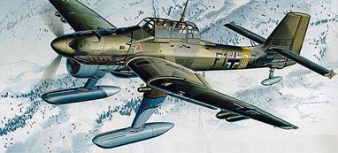 "Early Stukas mounted ""Jericho Trumpet"" sirens in front of the landing gear, a psychological weapon meant to frighten enemy soldiers. Stukas were capable of vertical dives which made them difficult to defend against. These steep dive angles caused pilot black-outs. Nazi research into methods for alleviating this g force trauma was later used by NASA."
