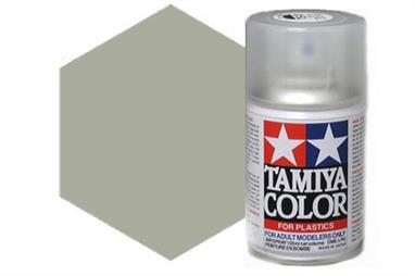 Tamiya AS11 Medium Sea Grey RAF Synthetic Lacquer Spray Paint 100ml AS-11Tamiya AS Spray paint, much like�the TS Sprays, are meant for plastic models. These spray paints are specially developed for finishing aircraft models. Each color is formulated to provide the authentic tone to 1/32 and 1/48 scale model aircraft. now, the subtle shades can be easily obtained on your models by simple spraying. Each can contains 100ml of synthetic lacquer paint.