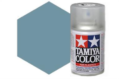 Tamiya AS25 Dark Ghost Grey Synthetic Lacquer Spray Paint 100ml AS-25Tamiya AS Spray paint, much like�the TS Sprays, are meant for plastic models. These spray paints are specially developed for finishing aircraft models. Each color is formulated to provide the authentic tone to 1/32 and 1/48 scale model aircraft. now, the subtle shades can be easily obtained on your models by simple spraying. Each can contains 100ml of synthetic lacquer paint.