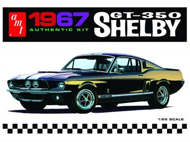 AMTERTL AMT800/12 1/25th Shelby GT350 KitCarroll Shelby's legend lives on in AMT's 1/25 scale kit!