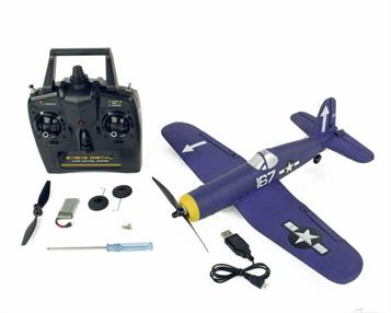 Spanning a suitcase-friendly 400mm, supplied with a four-channel 2.4GHz transmitter, single cell LiPo battery, USB charger, demountable undercarriage and spare propeller, all you'll need to buy is 4AA batteries for the transmitter. It's a cracker