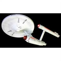 AMT/ERTL 1/650 Star Trek Classic USS Enterprise Kit 50th Anniversary Edition AMT947Glue and paints are required to assemble and complete the model (not included)