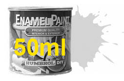 Humbrol 11 Metallic Silver 50ml Enamel Paint E50/11