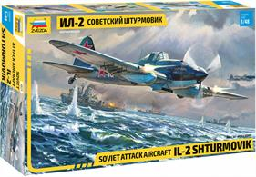 IL-2 Stormovik Russian WW2 Strike Aircraft Kit