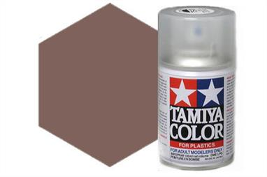Tamiya AS22 Dark Earth RAF Synthetic Lacquer Spray Paint 100ml AS-22Tamiya AS Spray paint, much like�the TS Sprays, are meant for plastic models. These spray paints are specially developed for finishing aircraft models. Each color is formulated to provide the authentic tone to 1/32 and 1/48 scale model aircraft. now, the subtle shades can be easily obtained on your models by simple spraying. Each can contains 100ml of synthetic lacquer paint.