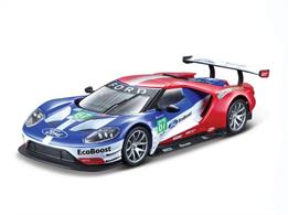 Burago B18-41158 1/32 Scale Ford GT Le Mans Race Car Model