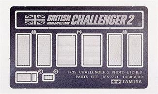 Challenger 2 Photo Etched Parts