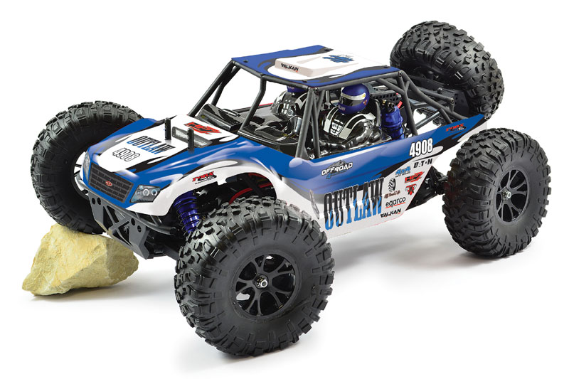 FTX 1/10 Outlaw 4wd Ultra Buggy Brushless FTX5571<br>Yeeeha, the Outlaw Brushless has just left its rooster tail as the throttle is nailed. Well you might not have a Californian desert on your doorstep, but you can pretend! Loosely based on the powerful Ultra 4 buggies that take up the challenge of racing through the US' west coast deserts, the Outlaw is the perfect mix of RTR entry level fun with a bit of scale realism thrown in to boot.