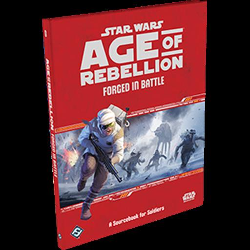 Fantasy Flight Games SWA42 Forged in Battle, Star Wars: Age of Rebellion Sourcebook