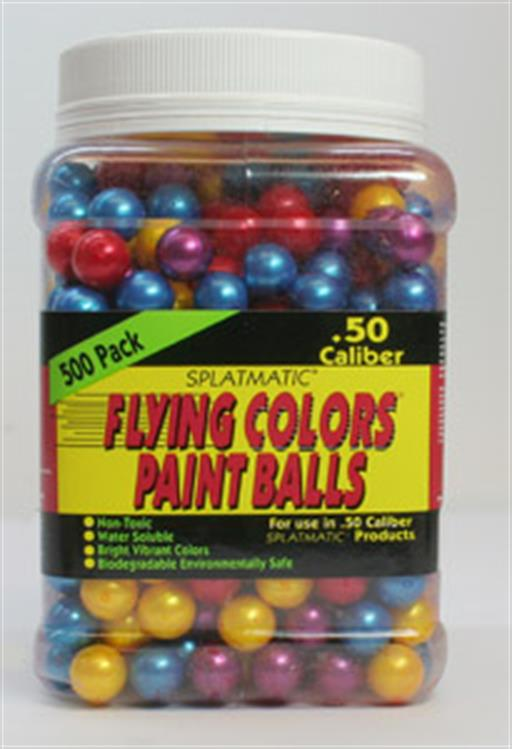 Palco Mark. Inc PB5500AB Splatmatic .50 500 Flying Colors Paint balls