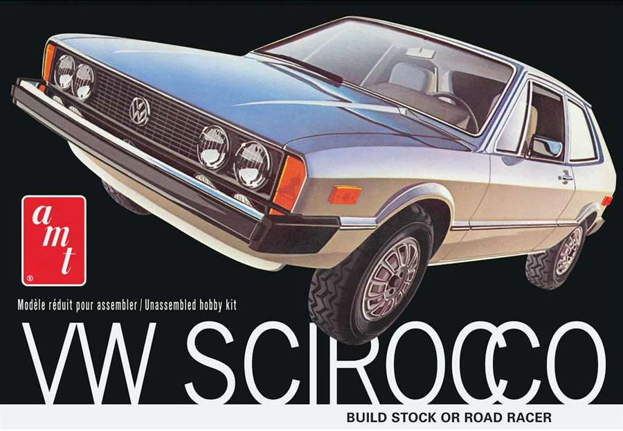 AMT/ERTL 1/25 VW Scirocco Car Kit 925