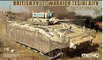 New tooling plastic kit of the British Armies FV510 Warrior Armoured Infantry Fighting Vehicle