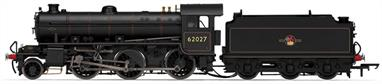 Hornby R3243A 00 Gauge BR 62027 Thompson/Peppercorn K1 Class 2-6-0 BR Black Late CrestDCC Type: DCC Ready