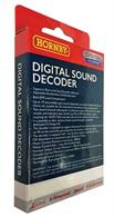 Hornby budget priced TTS sound DCC decoder and speaker with sounds recorded for the GWR Hall class 4-6-0.These sounds will also be suitable for other large GWR 2-cylinder classes including the Grange and 78xx Manor class 4-6-0s, 43xx class 2-6-0, 5101 class 2-6-2T and 42xx/72xx 2-8-0T/2-8-2T