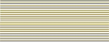Modelmaster Decals MM4482 00 Gauge Black & Yellow passenger coach lining for B.R maroon livery, 1956 -1965