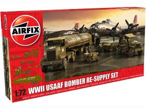 Airfix A06304 1/72nd USAAF 8th Airforce Bomber resupply Set