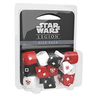 Supplement your games of Star Wars™: Legion with a tool of convenience: extra dice! The Star Wars: Legion Dice Pack contains fifteen dice, identical to the dice contained in the Core Set.