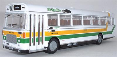 EFE 1/76 Bristol RELH Coach Badgerline 29403The classic Bristol RELH coaches remained in service with Badgerline into the 1990's, working on routes from Wells in Somerset.Registration number GHY 133K, fleet number WS 2071. Destination panel -173 Wells.