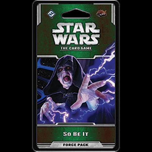 Fantasy Flight Games SWC27 So Be It Force Pack, Star Wars: The Card Game
