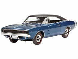 Revell 1/25 1968 Dodge Charger KitLength 213mm Number of Parts 139