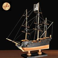 To build this model you do not need any special tool, you just need some glue for wood and a lot of imagination. You can enrich your model with many accessories from the Amati line, just like the pirates did.