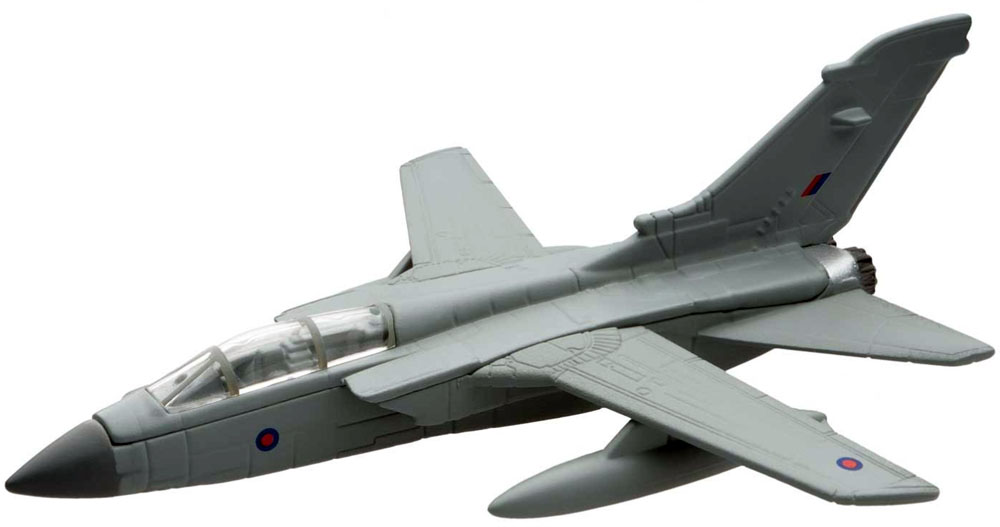 Corgi's Tornado GR4 from the Showcase Collection CS90624 is a quality die-cast model aircraft suitable for the younger collector. Wingspan 87mm