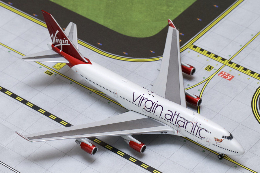Gemini Jets 1/400 Virgin Atlantic Boeing B747-400 Ruby Tuesday G-VXLG GJVIR1503