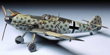 Tamiya 1/48 Messerschmitt BF109 E3 German Fighter Kit 61050The E-3, which this kit represents, was active during the invasion of France and the Battle of Britain.Glue and paints are required to assemble and complete the model (not included)