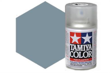Tamiya AS27 Gunship Grey 2 Synthetic Lacquer Spray 100ml AS-27Tamiya AS Spray paint, much like�the TS Sprays, are meant for plastic models. These spray paints are specially developed for finishing aircraft models. Each color is formulated to provide the authentic tone to 1/32 and 1/48 scale model aircraft. now, the subtle shades can be easily obtained on your models by simple spraying. Each can contains 100ml of synthetic lacquer paint.