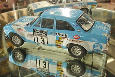 Belkits BEL006 1/24th Ford Escort RS1600 Rally CarA nicely detailed model of the famous Ford RS1600 Mk1 driven to victory on the 1973 Daily Mirror RAC Rally by the Flying Finn Timo Makkinen and co driver Henry Liddon.