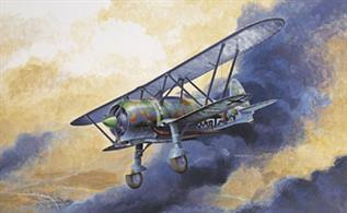 Italeri 2640 is a 1/48th scale plastic kit of a German CR42LW Biplane Aircraft Model length 240mm